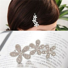 Woman Lady New Fashion Rhinestone Plum Flower Hairpin Hair Clip Hair Accessories