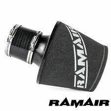 Ramair Universal 90Mm Od Neck Air Filter With 90Mm Id Silicone Coupling