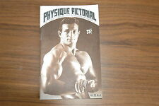 PHYSIQUE PICTORIAL VOL XI #1 50s VINTAGE MAGAZINE BOYS ART BEEFCAKE GAY NUDE