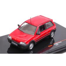 CITROEN AX GTi 1991 RED 1:43 Ixo Model Auto Stradali Die Cast Modellino
