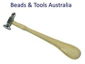 """CH223 Chasing Hammer 4oz 1.1"""" Head with Ball Pein Side for Riveting"""