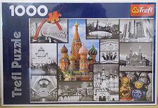 Mosca Cremlino COLLAGE Puzzle ~ 1000 PEZZI Trefl ~ NUOVO