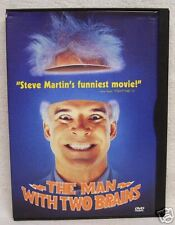 The Man With Two Brains DVD Rated R Used