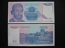 Yugoslavia 50000 Dinara 1993 (p130) UNC