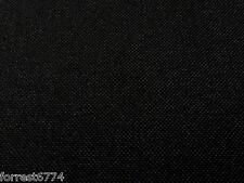 OUTDOOR WATERPROOF BLACK CANVAS FABRIC SEAT PAD CUSHION MINIMUM ORDER 2MTRS