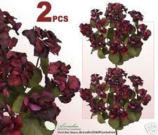 """TWO 23"""" Hydrangea Artificial Flowers Silk Plants 0576"""