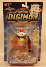 "Digimon 4"" Talking Hawkmon by Bandai - Mint On Card"