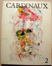 CARDINAUX/REVUE D ART/ED MAEGHT/1987/LITHO DE JL PARANT
