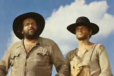 Terence Hill Bud Spencer They Call Me Trinity 1970 Classic Western 24X18 Poster