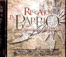 REGGAETON PAL BARRIO - DON OMAR , HECTOR Y TITO, MEXICANO , TEMPO, IVY QUEEN -CD