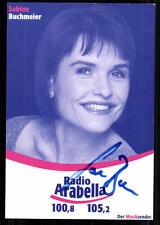 Sabine Buchmeier Radio Arabella Autogrammkarte Original Signiert ## BC 23573