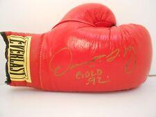 OSCAR DE LA HOYA 1992 GOLD Autographed Everlast Leather Boxing Glove - FREE S+H