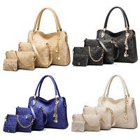 Fashion Ladies Designer Handbag Set Leather Shoulder Messenger Tote Purse Bag