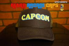 CAPCOM Trucker Retro 80s vintage Hat Baseball Cap ARCADE Megaman Resident Evil