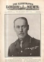 1917 London News April 21 Hospital ship sunk; Welfare work; Germans retreat