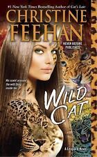 WILD CAT: A LEOPARD NOVEL BY CHRISTINE FEEHAN (2015) NEW MASS MARKET PAPERBACK J