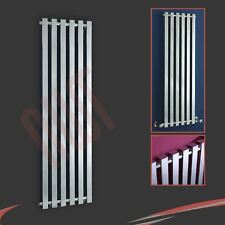"400mm(w) x 1600mm(h) ""Avantis"" Chrome Designer Vertical Square Tube Radiator"
