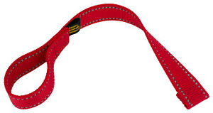 Country Brook Design® Red Winch Hook Pull Strap with Reflective Nylon