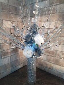 Buy Artificial Flower Arrangement Vases Ebay