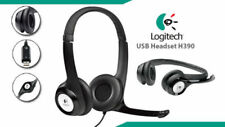 Logitech H390 USB Headset Headset with Noise Cancelling Microphone Like New