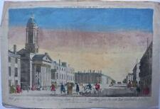 Londres : Vue de l'Eglise de St George dans le Carré de Hanover /18éme