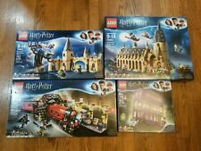 LEGO HARRY POTTER 2018/2019 NIB LOT COLLECTION 75953, 75954, 75955, 75957