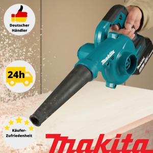 Makita DUB185Z Akku-Gebläse 18V Gebläse Sologerät ohne Akku/Ladegerät Laubbläser