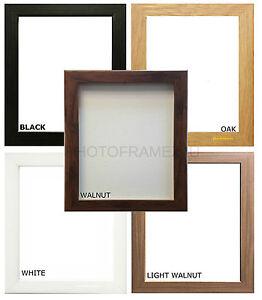 Picture Frames  Photo Frames Wood Effect Black Oak White Walnut Light Walnut