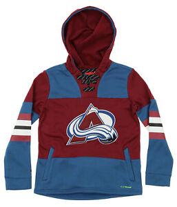 Reebok NHL Youth Colorado Avalanche PlayWarm Offside Fleece Hoodie