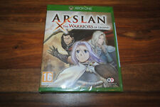 Jeu ARSLAN THE WARRIORS OF LEGEND pour XBOX ONE Neuf SOUS BLISTER Version FR PAL