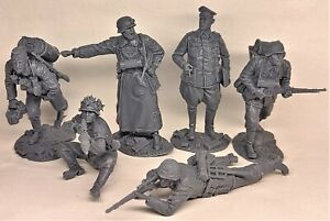 Plastic Platoon Wehrmacht Hunters and prey Stalingrad 1942 1/32