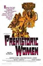 Les Femmes préhistoriques 1966 Poster 01 A2 Box Toile imprimer