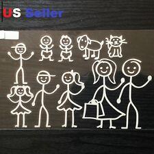 Set of 10 Family Car Sticker Emblem Label / Window / Lap Top / iPad Stick #1