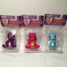 Ever After High Dragon Games  Darling Holly Raven 3 Baby Dragon Figures NEW