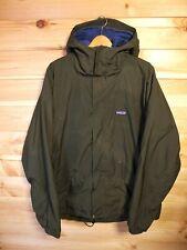 Patagonia Green Parka Fleece Lined XL Hooded Jacket Coat