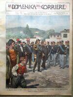 La Domenica del Corriere 9 Luglio 1899 Teodorico Ravenna Brigantaggio Garibaldi