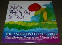 The Anderson College Choir~What A Mighty God We Serve~Christian Gospel~FAST SHIP