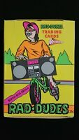 1990 Pacific Rad Dudes Wax Box 36 Packs