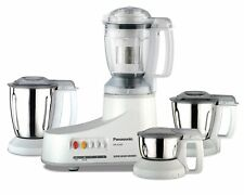 Panasonic AC MX-AC400 550-Watt Super Mixer Grinder with 4 Jars (White) MX AC 400