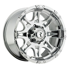 17 inch 17x9 Raceline 983 RAPTOR CHROME wheel rim 6x5.5 6x139.7 +0