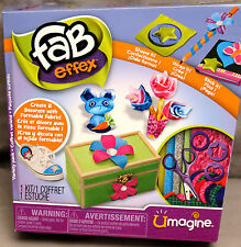 Fab Effex Umagine Variety Pack Create Make Mold Formable Fabric Spin Master BNIB