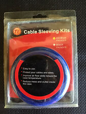 Thermaltake Cable Sleeving Kit, PC Customize, Blue, Excellent
