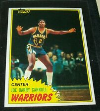 "1981/82 TOPPS JOE BARRY CARROLL R/C BASKETBALL CARD ""NR-MINT"" #71 WEST ""VINTAGE"""