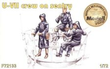 Czech Master 1/72 3 x crew figures on sentry duty for U-Boat Typ VIIc # F72133