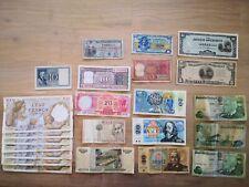 Konvolut Lot - 23 Banknoten - div. Länder - IT PT FR IN PH CH  - aus Nachlass