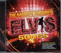 Elvis PRESLEY The Nation's Favourite Elvis Songs CD NEW/UNPLAYED