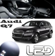 AUDI Q7 Pack 10 Ampoules LED Blanc interieur Plafonnier lampe lecture Sols tapis