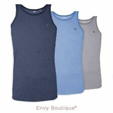Camisetas de hombre 100% algodón sin mangas talla XL