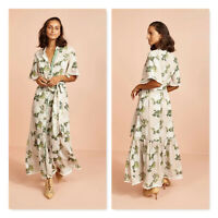 BINNY | Womens Monsoon Wedding Maxi Shirt Dress NEW  [ Size AU 10 or US 6 ]