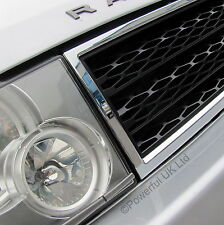 Chrome+Black SUPERCHARGED style GRILLE upgrade  for Range Rover L322 2002-05